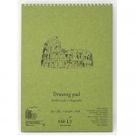 Альбом-SMLT DRAWING PAD, A5, 20л., 290г/м, на спирали, для зарисовок, арт.5EB-20TS/OA