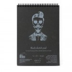 Альбом-SMLT Sketch pad Black (черные листы) A4, 30л., 165г/м, на спирали